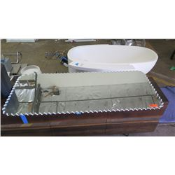 """Tray w/ Laced-Border Detail 28"""" x 66"""""""