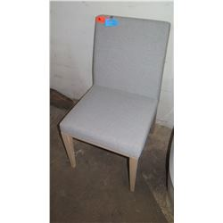 "Upholstered Side Chair, Made in Italy, from Calligaris, 19"" x 16"" x 34"""
