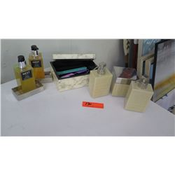 """Set of Dispensers, Cannister, Decorative Box, """"Nest"""" Products"""