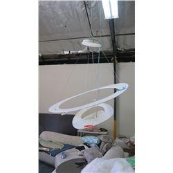 """Modern Ceiling Light Fixture, Approx. 32"""" x 35"""" H"""