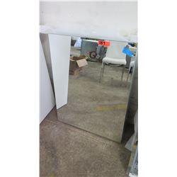 "Glass Mirrors (qty 2), 29"" x 36"""