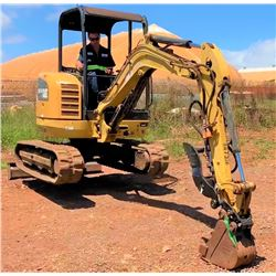 LANAI 2013 CAT 302.7D Mini Excavator 2987 Hours, Runs