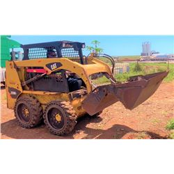 LANAI 2013 CAT 226B3 Skidsteer, 1410 Hours, Runs