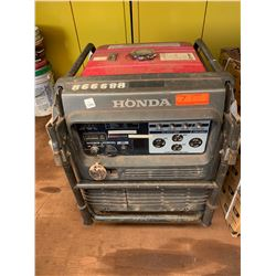 Honda EU6500IS Portable Generator, 6500 Watts, Starts & Runs - See Video