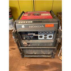 LANAI Honda EU6500IS Portable Generator, 6500 Watts, Starts