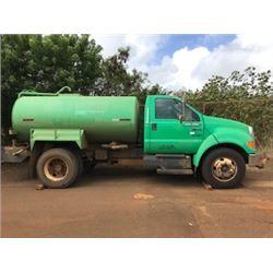 KAUAI WATER TRUCK - PUMPS WATER NEEDS NEW MOTOR-LOCATED ON KAUAI
