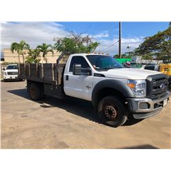 MAUI -2012 Ford Super Duty Truck 6.7L Power Stroke Flatbed / Stakebed _Located On Maui