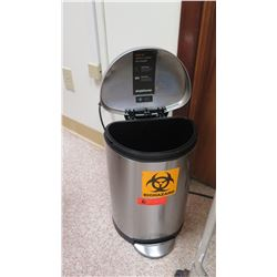 "Simple Human Waste Receptacle 17"" H"
