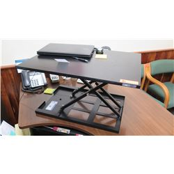"Stand-Steady Adjustable Height Standing Desk (top surface 28"" x 20"""
