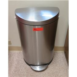 "Simple Human Waste Receptacle 27"" H"