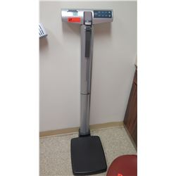 Health O Meter Professional Scale, 500-lb Capacity