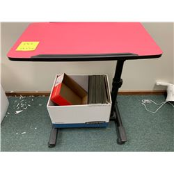 "Rolling Tilting Stand, Adjustable Height 23.5"" x 14"""