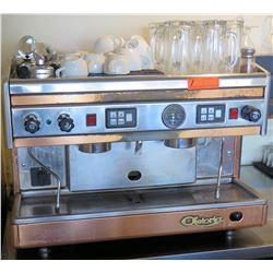 Astoria Espresso Machine w/ Misc. Mugs and Glasses