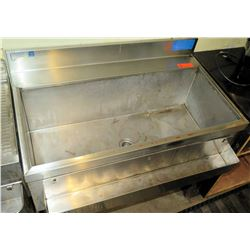 Stainless Steel Ice Bin