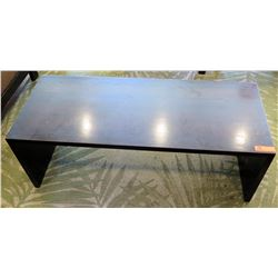 Rectangular Wooden Coffee Table