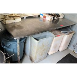 Metal Utility Table