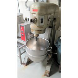 Large Hobart Commercial Dough Mixer w/ Mixing Attachments