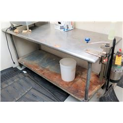 Stainless Steel Work Table w/Undershelf