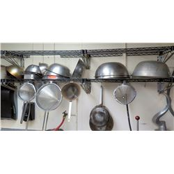 Misc. Metal Bowls and Strainers
