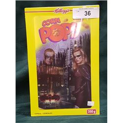 1997 UNOPENED BATMAN LIMITED EDITION CORN POPS CEREAL, HOLOGRAM BOX