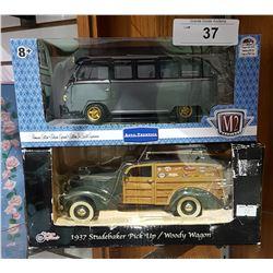 2 NIB DIE CAST CARS