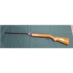 VINTAGE PELLET GUN W/PAINTED WOOD STOCK