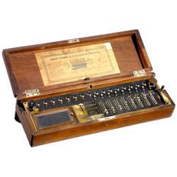 Burkhardt Arithmometer, 1878