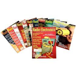 "Legendäres Original-Heft ""Radio-Electronics"" mit der ersten Präsentation des 1. PCs der Welt – dem """