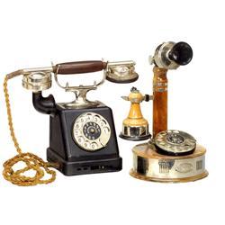 2 Tisch-Telephone