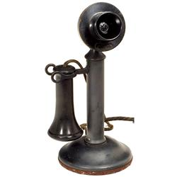 American Candlestick Telephone by Wester