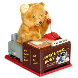 "Telephone Bear ""I am the Boss"""