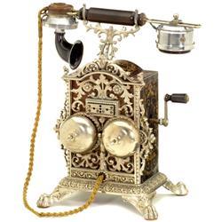 "Prachttelephon ""Elektrisk Bureau Kristiania"""