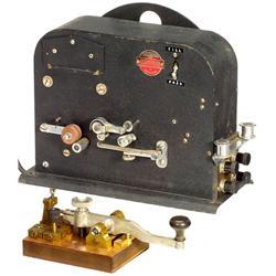 Schwedische Telegraphen-Ausrüstung
