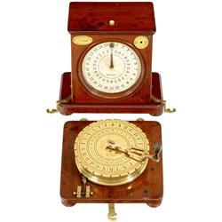 "Early Dial Telegraph by ""L. Bréguet"", c. 185"