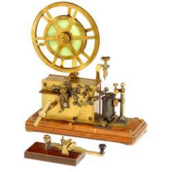 """Messing-Telegraph """"L.M. Ericsson"""", um 189"""