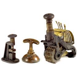 """Original U.S. Patent Model of a """"Hand Stapler"""