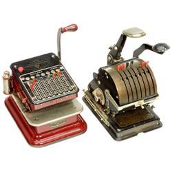 2 amerikanische Scheckschreiber