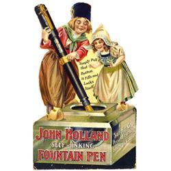 """Very Attractive Die Display """"John Hollan"""