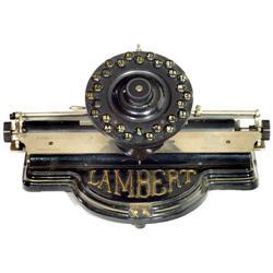 Lambert, 1896