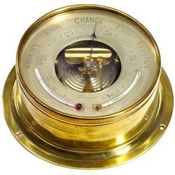 Englisches Schiffsbarometer, um 1920