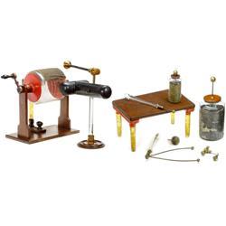 Nairne's Elektrisiermaschine mit Zubehör