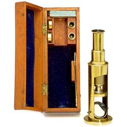Trommel-Mikroskop, um 1850