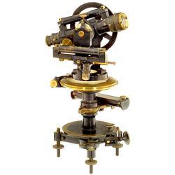 Kleiner Theodolit  F.W. Breithaupt & Sohn, Hessen-Cassel , 1895