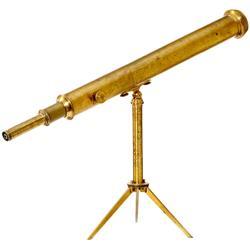 Frühes Tisch-Teleskop (Plössl-Typ!), um 184
