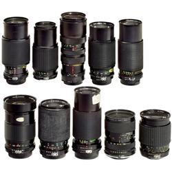 10 Zoom-Objektive (AI) für Nikon