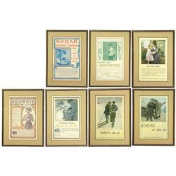 Original-Kodak-Werbung, ab 1900