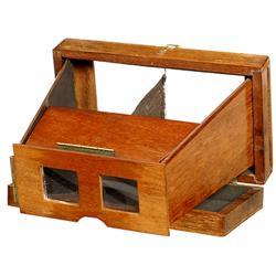 Klapp-Stereo-Betrachter, um 1880