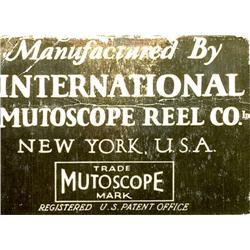 Original-Mutoscope-Filmrolle No. 7698