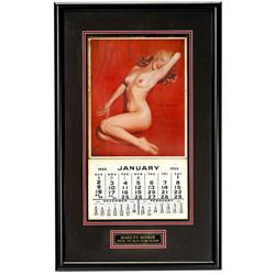 "Original-Marilyn-Monroe-Kalender ""Golde"