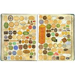 Großes Musterbuch für Etiketten, 1929